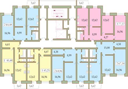 планировка квартиры 121 серии
