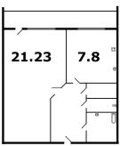 кирпичные дома - планировка 1