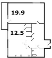 кирпичные дома - планировка 2